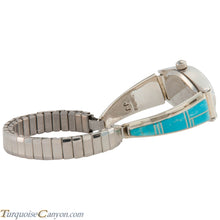 Load image into Gallery viewer, Navajo Native American Turquoise Inlay Watch Tips by Jessie Johnson SKU226711