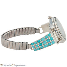 Load image into Gallery viewer, Zuni Native American Turquoise Watch Tips by Caroline Malani SKU226715