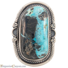 Load image into Gallery viewer, Navajo Native American Indian Mountain Turquoise Ring Size 9 1/2 SKU226878