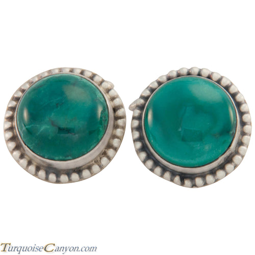 Navajo Native American Royston Turquoise Cuff Links by Willeto SKU226913