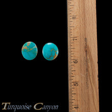 Load image into Gallery viewer, Set of Two Natural Kingman Mine Loose Turquoise Stones 30.0ct SKU227138