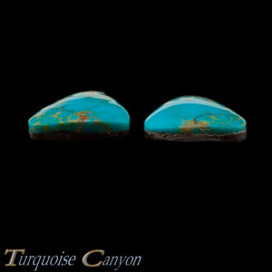 Set of Two Natural Kingman Mine Loose Turquoise Stones 24.5ct SKU227139