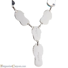 Load image into Gallery viewer, Navajo Native American Turquoise Mountain Necklace and Earrings SKU227398