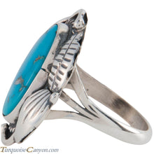 Load image into Gallery viewer, Navajo Native American Sleeping Beauty Turquoise Ring Size 8 SKU227424