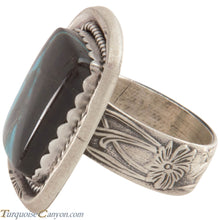 Load image into Gallery viewer, Navajo Native American Indian Mountain Turquoise Ring Size 7 1/4 SKU227449