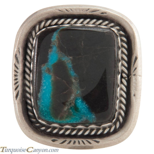 Navajo Native American Indian Mountain Turquoise Ring Size 7 1/4 SKU227449