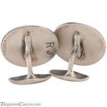 Load image into Gallery viewer, Navajo Native American Wampum Shell Cuff Links by Richard Jim SKU227503