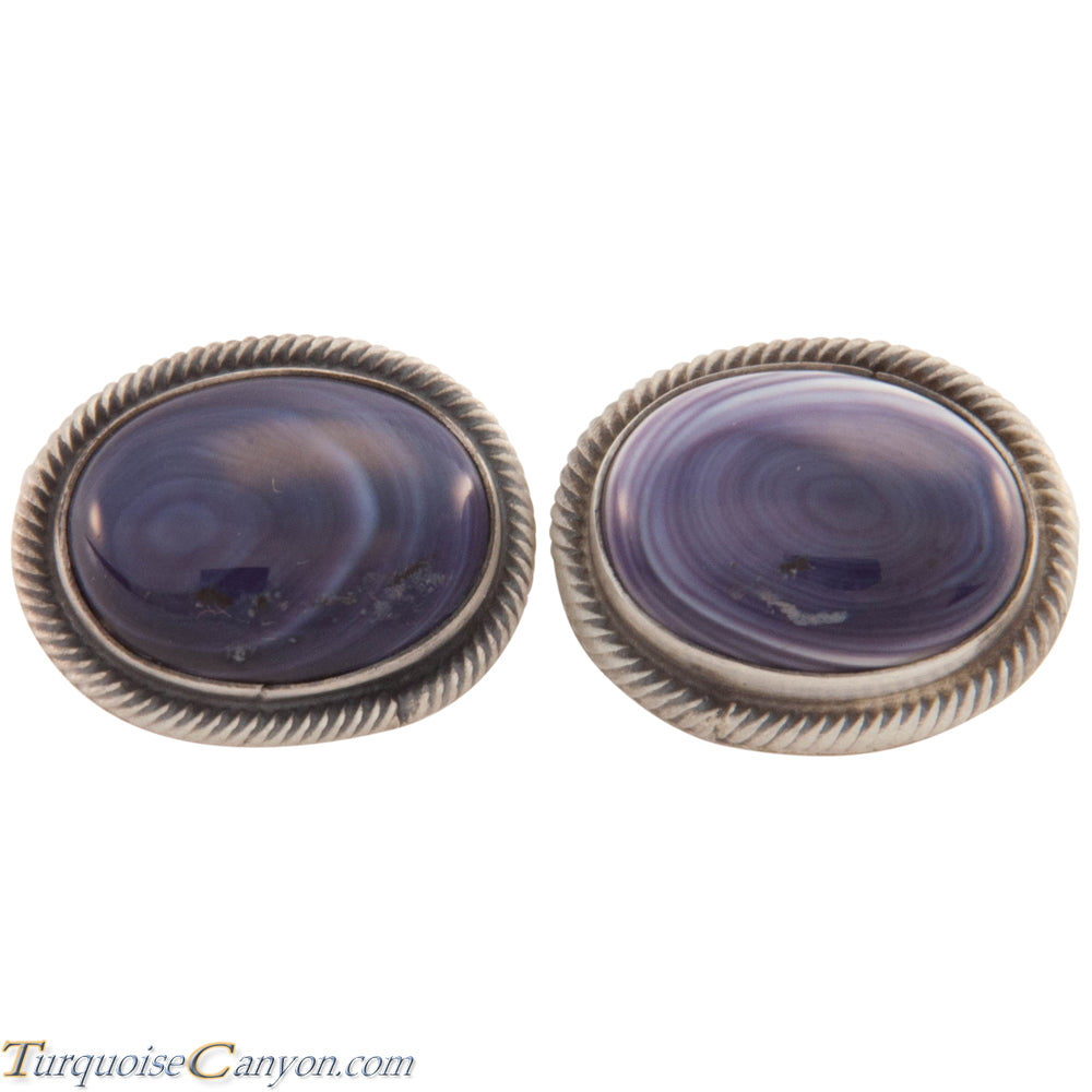 Navajo Native American Wampum Shell Cuff Links by Richard Jim SKU227503