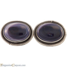 Load image into Gallery viewer, Navajo Native American Wampum Shell Cuff Links by Richard Jim SKU227505