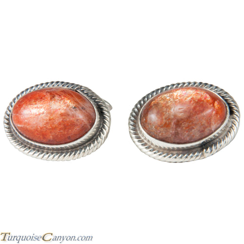 Navajo Native American Sun Stone Cuff Links by Richard Jim SKU227513