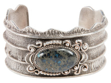 Load image into Gallery viewer, Navajo Native American New Landers Turquoise Tufa Bracelet by Billie SKU227596