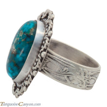 Load image into Gallery viewer, Navajo Native American Kingman Turquoise Ring Size 9 by Willeto SKU227696