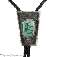 Load image into Gallery viewer, Navajo Native American Carico Lake Bolo Tie by Richard Jim SKU227707
