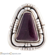 Load image into Gallery viewer, Navajo Native American Purple Shell Ring Size 7 by Betta Lee SKU227897