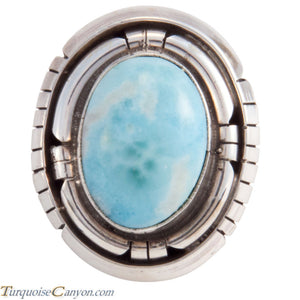 Navajo Native American Larimar Ring Size 7 3/4 by Betta Lee SKU227919