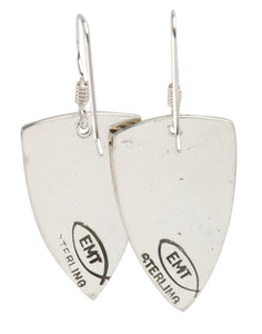 Navajo Native American Sterling Silver Earrings by Teller SKU227974