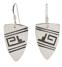 Load image into Gallery viewer, Navajo Native American Sterling Silver Earrings by Teller SKU227974