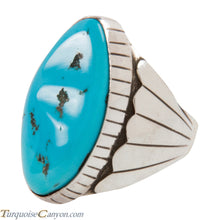 Load image into Gallery viewer, Navajo Native American Sleeping Beauty Turquoise Ring Size 11 1/2 SKU228033