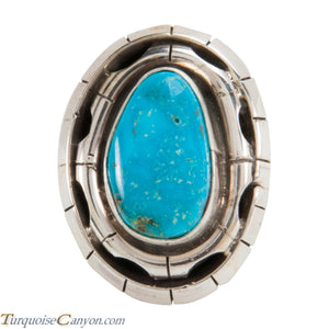 Navajo Native American Kingman Turquoise Ring Size 8 by Betta Lee SKU228047