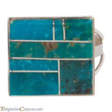 Load image into Gallery viewer, Navajo Native American Turquoise Mountain Turquoise Ring Size 10 SKU228073