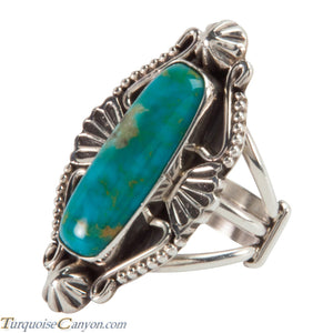 Navajo Native American Turquoise Ring Size 6 1/4 by Calladitto SKU228213