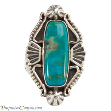 Load image into Gallery viewer, Navajo Native American Turquoise Ring Size 6 1/4 by Calladitto SKU228213