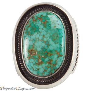 Navajo Carico Lake Turquoise Ring Size 11 by Terry Martinez SKU228221