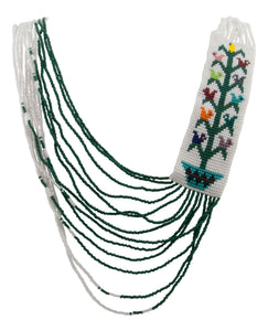 Navajo Native American Tree of Life Seed Bead Necklace SKU228228