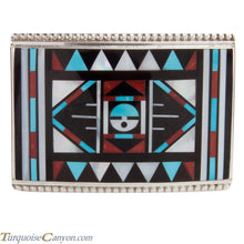 Load image into Gallery viewer, Zuni Native American Turquoise Inlay Belt Buckle by Vacit SKU228525