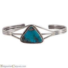Load image into Gallery viewer, Navajo Native American Candelaria Mine Turquoise Bracelet SKU228743