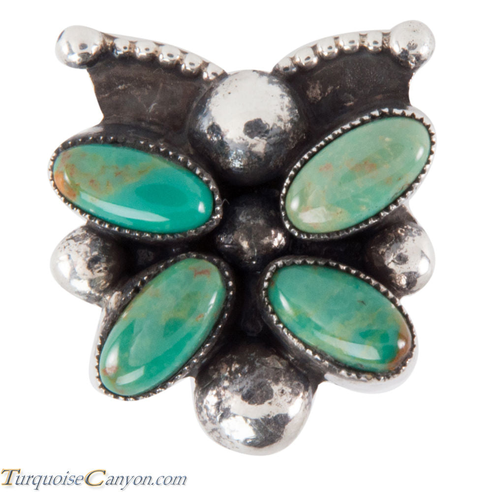 Navajo Native American Royston Turquoise Ring Size 7 by Martinez SKU228760