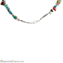 Load image into Gallery viewer, Native American Turquoise and Shell Necklace by Carol Pacheco SKU228826