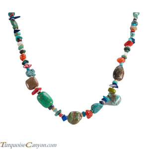 Native American Turquoise and Shell Necklace by Carol Pacheco SKU228826