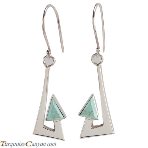 Navajo Native American Turquoise Earrings by Ronnie Henry SKU228840