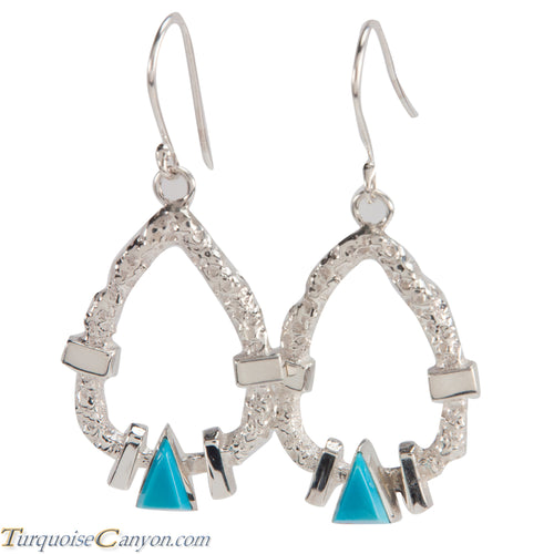 Navajo Native American Turquoise Earrings by Ronnie Henry SKU228842