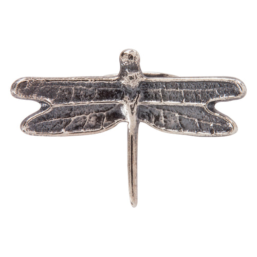 Navajo Native American Silver Dragonfly Ring Size 6 by Monty Claw SKU228953