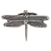 Load image into Gallery viewer, Navajo Native American Silver Dragonfly Ring Size 8 3/4 by Claw SKU228956