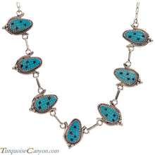 Load image into Gallery viewer, Zuni Native American Turquoise Corn Necklace by Bowekaty SKU228977