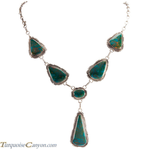 Navajo Native American Royston Turquoise Necklace by Elouise Kee SKU229036