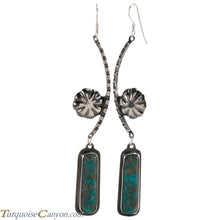 Load image into Gallery viewer, Navajo Native American Quartz Earrings by Monty Claw SKU229078