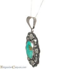 Load image into Gallery viewer, Navajo Native American Royston Mine Pendant Necklace by Ray Bennett SKU229118