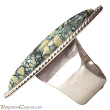 Load image into Gallery viewer, Ottawa Native American New Lander Variscite Ring Size 7 by Eagle SKU229125