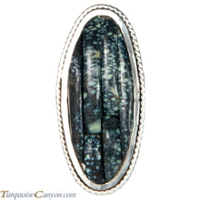 Load image into Gallery viewer, Ottawa Native American New Lander Variscite Ring Size 8 by Eagle SKU229126