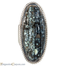 Load image into Gallery viewer, Ottawa Native American New Lander Variscite Ring Size 8 by Eagle SKU229128
