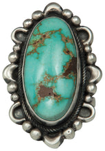 Load image into Gallery viewer, Navajo Native American Royston Turquoise Ring Size 7 1/2 by Clark SKU229172