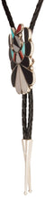 Load image into Gallery viewer, Zuni Native American Thunderbird Bolo Tie by Rose Tekela SKU229360