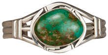 Load image into Gallery viewer, Navajo Native American Crow Springs Turquoise Bracelet by Sanchez SKU229435