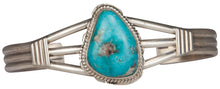 Load image into Gallery viewer, Navajo Native American Candelaria Turquoise Bracelet by Larson Lee SKU229447