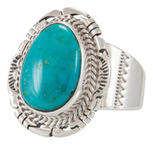 Load image into Gallery viewer, Navajo Native American Royston Turquoise Ring Size 10 1/2 by Jake SKU229673