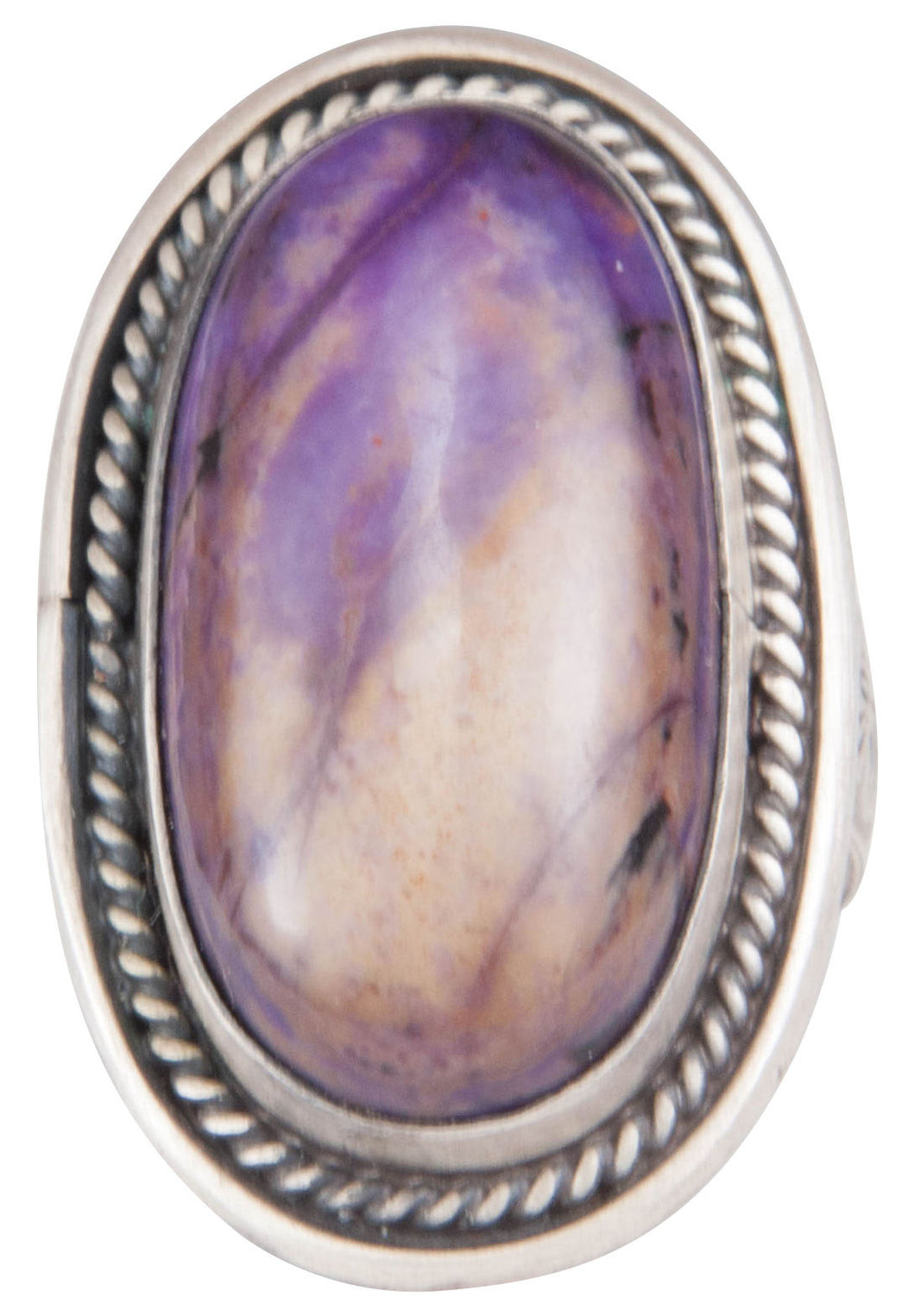 Navajo Native American Sugilite Ring Size 7 by Martha Willeto SKU229943